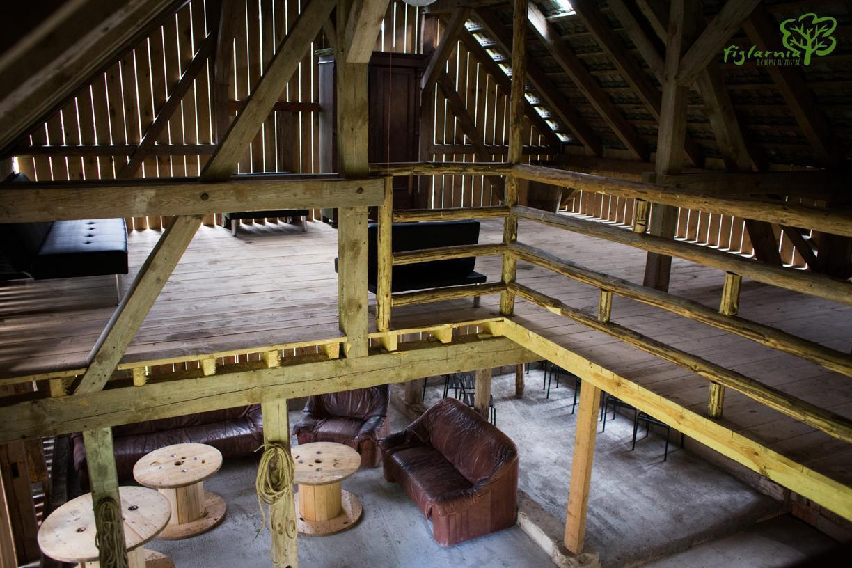 Strefa komfortu w stodole.